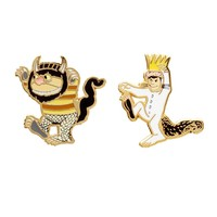 Where the Wild Things Are enamel pin set – Out of Print