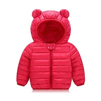 Infant Girls Coat Autumn Winter Jacket For Baby Boys Girls Jacket Kids Warm Outerwear Coat For Baby Jacket born Clothes