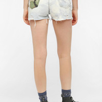 Urban Outfitters - The Laundry Room Camo Cutoff Cheeky Short