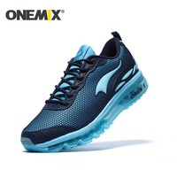 ONEMIX New Men Sport Shoes Breathable Outdoor Running Shoes Boys Outdoor Walking Shoes