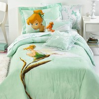 Disney Bedding, Tinkerbell Tink Watercolor Comforter Sets - Kids' Bedding - Bed & Bath - Macy's