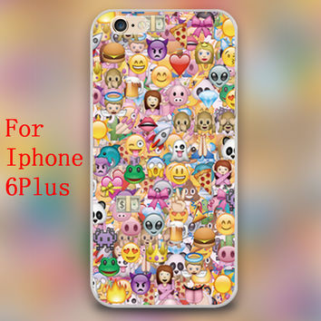 Emoji CASE for Apple iphone 4 4s 5 5c 5s 6 4.7 6plus hard shell