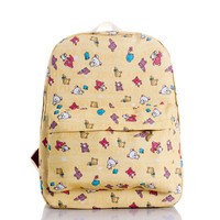 Korean Print Lovely Cute Backpack = 4887715076