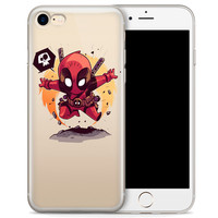 """Deadpool (animated) Jelly Clear Case for Apple iPhone 6/6s (4.7"""")"""