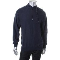 WRK Mens Big & Tall Cotton Knit Pullover Sweater