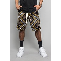 Lux Leopard Basketball Shorts