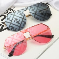 FENDI Hot Sale Women Men Summer Sun Shades Eyeglasses Glasses Sunglasses