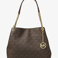 Jet Set Large Logo Shoulder Bag | Michael Kors
