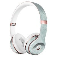 Scratched Mint Surface Full-Body Skin Kit for the Beats by Dre Solo 3 Wireless Headphones