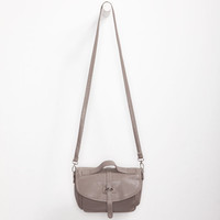 Deb & Dave Top Handle Crossbody Bag Taupe One Size For Women 24130541301