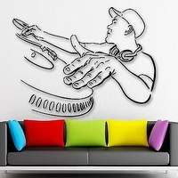 Wall Stickers Vinyl Decal DJ Rap Music Hip Hop Night Club Party Unique Gift (ig426)