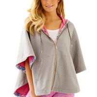 Luxletic Hooded Poncho | Lilly Pulitzer