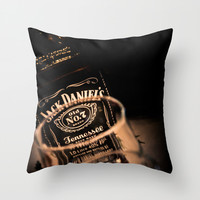 Jack Daniels Whisky Throw Pillow by Eduard Leasa Photography