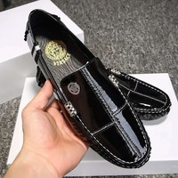 Versace Fashion Casual Flats Shoes-12