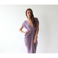 Blushfashion™ Purple Maxi Dress