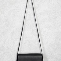 Faux Leather Crossbody Bag