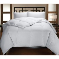 Down Alternative White on White Comforter