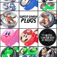 Limited Run - Super Smash Plugs - Image Plugs