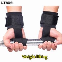 Fitness Weight Lifting Straps Sports Wrist Support Weightlifting Gloves Protector Gym Weight Lifting Straps S093