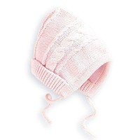 Baby Knit Hat in Pink by Bella Bliss
