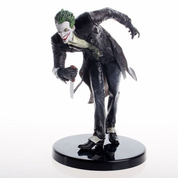 Direct Arkham Batman Series The Joker Fancy Dress Statue Action Figure