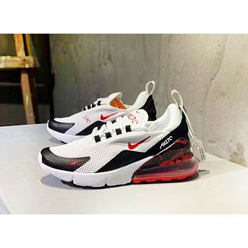 inseva NIKE AIR Max 270 New fashion hook couple running mesh shoes