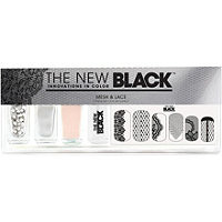 The New Black Mesh & Lace Nail Color & Accessories Set Ulta.com - Cosmetics, Fragrance, Salon and Beauty Gifts