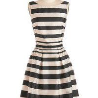 ModCloth Mid-length Sleeveless Fit & Flare The Art of Enchantment Dress