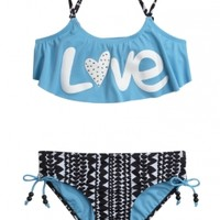 Love Flounce Bikini Swimsuit | Girls Spring 2015 Preview New Arrivals | Shop Justice