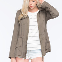 ASHLEY Hooded Womens Anorak Jacket | Gypset
