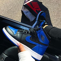 Nike Air Jordan 1 Og Royal Aj1 Gym Shoes