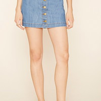 Contemporary Denim Mini Skirt | Forever 21 - 2000177574