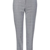 Check Cigarette Trousers - Workwear - Clothing