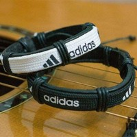 ADIDAS Fashion Casual Print SPORTS Wrist Strap Bracelet