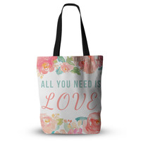 All You Need Is Love Beatles Fiancee Hip Hop Wedding Bride Future Mrs Wife Fashion Tote Bag 18x18