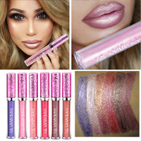 HANDAIYAN new waterproof makeup liquid lipstick cosmetic matte lipstick for women best glossy lipstick make up lip stick