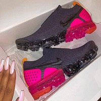 Nike Air VaporMax Flyknit 2.0 FK MOC 2 New Fashion Sports Leisure Sneaker Women Men Black