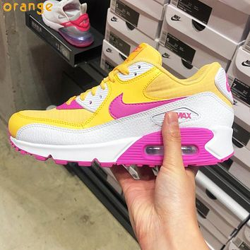 Nike Air Max 90 Women Casual Air Cushion Running Sport Shoes Sneakers