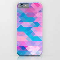 PINK TRIANGLE iPhone & iPod Case by Hands In The Sky
