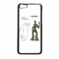 Hello I Baymax I Groot iPhone 5c Case