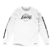 Free Throw Longsleeve Tee Los Angeles Lakers
