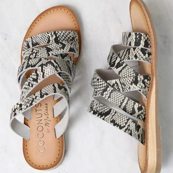 COCONUTS By Matisse - Ladylike Sandals in White Snake