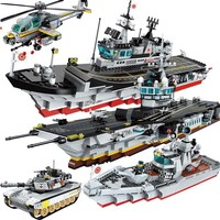 HOT NEW Military Tactical Espionage Boat WW2 Special Forces PUBG Figures Building Blocks Sets Kids Compatible Legoings LEPIN