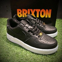 Size? x Nike Air Force 1 BRIXTON Sport Shoes AF1 311729-001-1