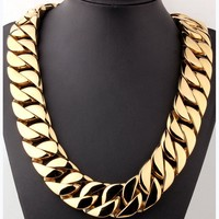 32mm Super Heavy Thick Cuban Link Chain