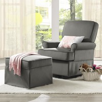 Baby Relax Varna Swivel Glider and Ottoman