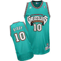 Vancouver Grizzlies Mike Bibby #10 Away Throwback Jersey