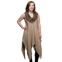Rey Hooded Tank Dress