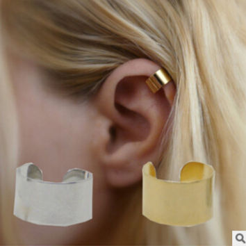 EJ 006 European and American trade fashion personality simple non-pierced ear cuff ear clip Ms. jewelry factory direct