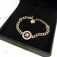 Versace men Fashion Accessories Fine Jewelry Ring & Chain Necklace & Earrings